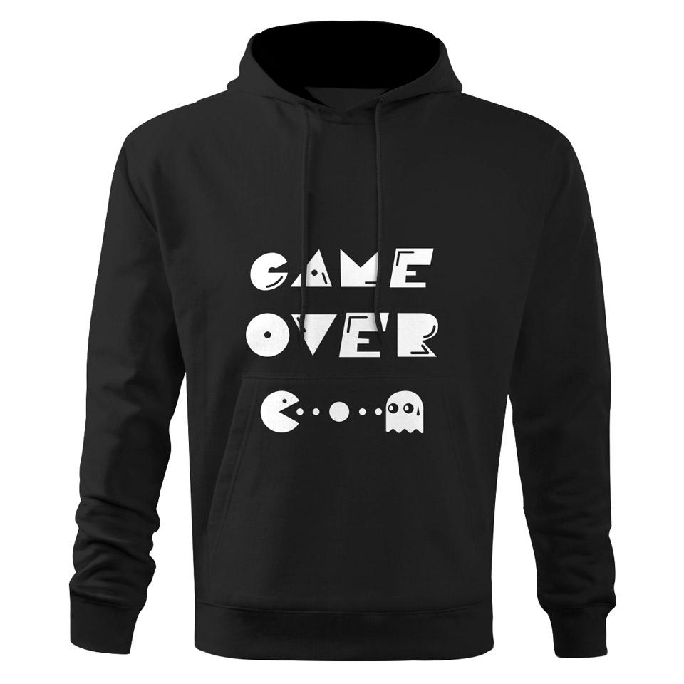 Pánska mikina Game over Pac-Man